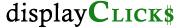 displayClicks logo